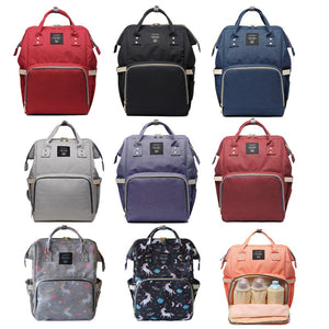 Baby Diaper Bag Backpack Fashion Brand Mom