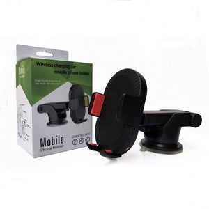 Car Wireless Charging Suction Cup Car Phone Holder Car Air Outlet Navigation Mobile Phone Bracket