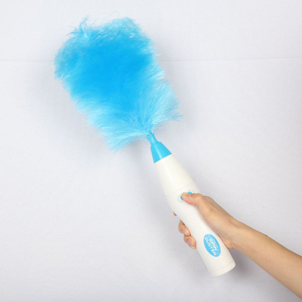 SPIN DUSTER Electric Dust Removal Dust Cleaning Brush 180 Degrees Bend Suck Ash Electric Dust Removal