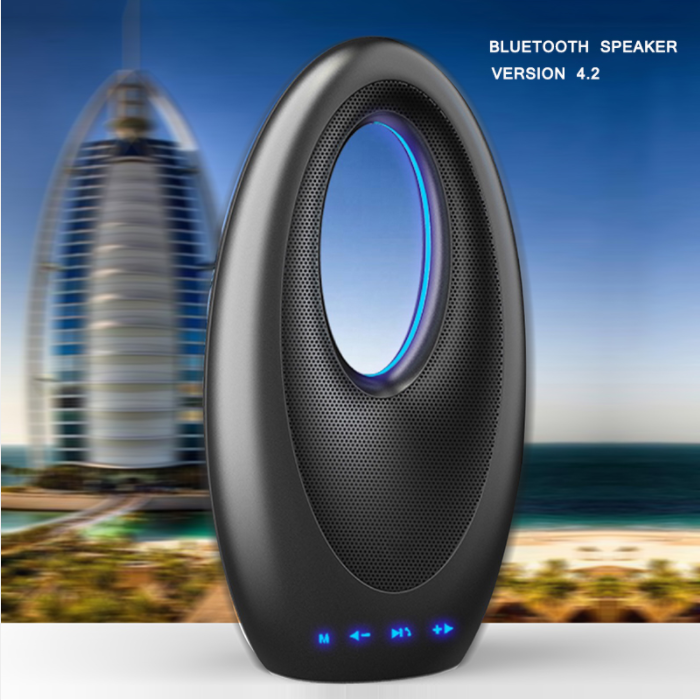 【Hot Sale】Burj Al Arab Hotel Shape Functional Bluetooth Speaker Play Music In Memory Card Radio
