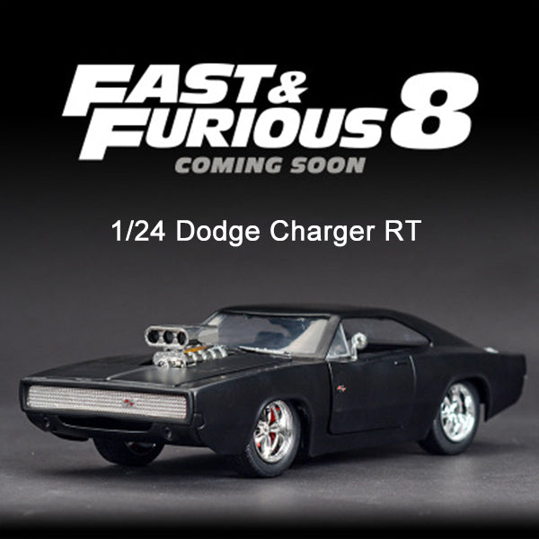 【50% OFF】JADA1: 24 Movie FAST AND FURIOUS 8 Genuine Boxed Simulation Alloy Car Model