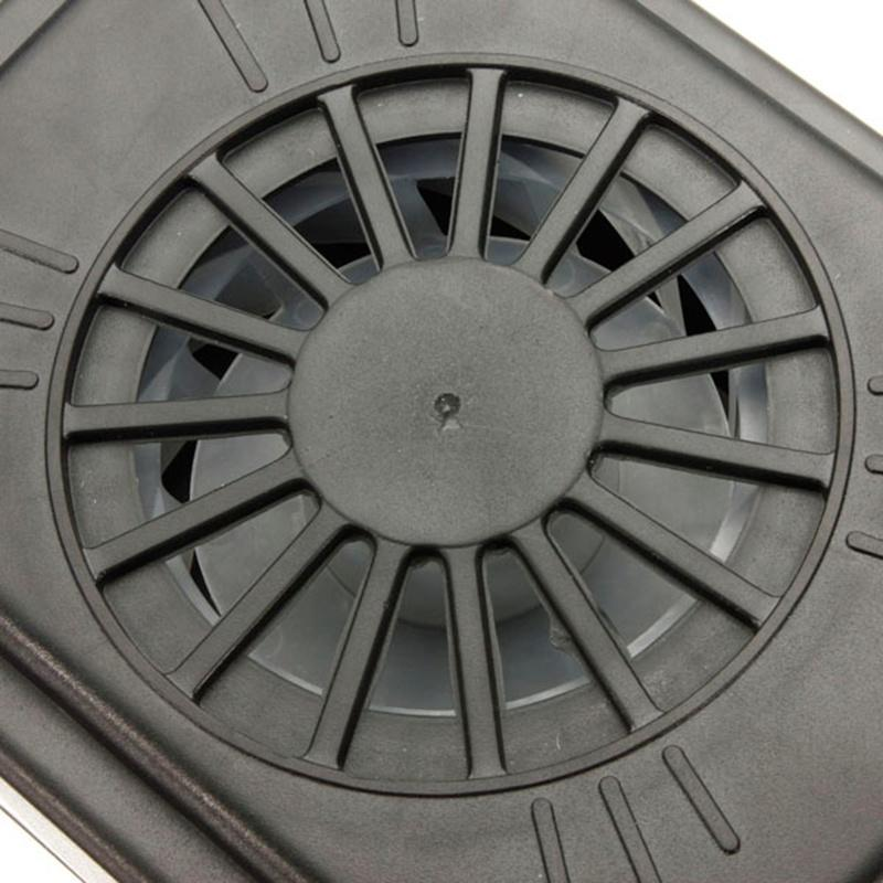 【2 pieces】Solar Power Car Vent Auto Fan