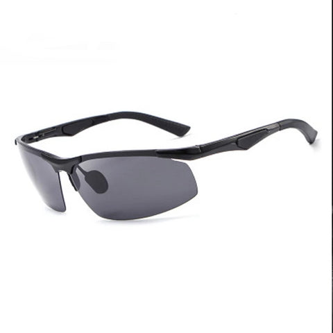 New Polarized Sunglasses MEN's Frameless Aluminum-magnesium Sports Driving Glasses E300