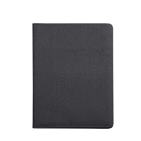 A4 PU Leather Multi-function Rechargeable  Folder Portfolio Professional Business Padfolio Folder