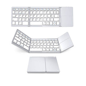 [منتجات رائجه] Portable Folding Bluetooth Keyboard  for IOS/Android/Windows ipad Tablet