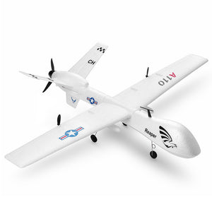 XK A110 Predator MQ-9 EPP Wingspan 565mm 2.4G 3CH DIY Glider RC Airplane Built-in Gyro RTF - White