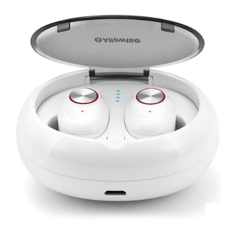 TWS Wireless Mini Earbuds Bluetooth Stereo Bilateral Earphones V5 With Portable Charging Dock