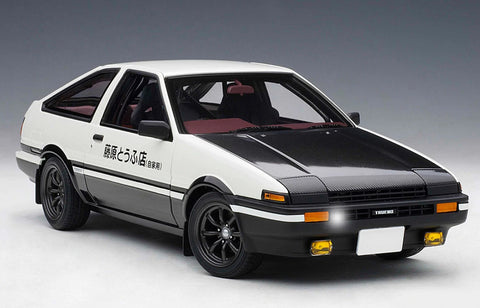 "【Special Edition】""Initial D""1:28 AE86 Car Model Project D Final Version car model"