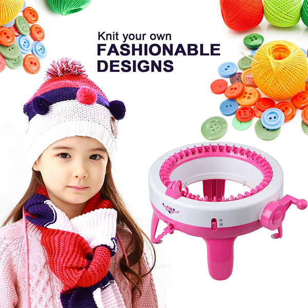 Knitting Machine - Large Smart Weaver Wool Machine For Adult Children