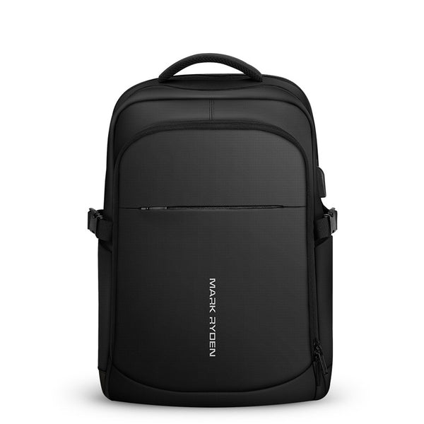 【Today Discount】New Oxford Cloth Computer Bag USB Charging Casual Shoulders Bag Waterproof Outdoor Backpack (Influencer Recommend)