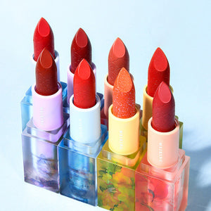 【Today Special】Summer Palace Crystal Seal Lipstick Woman Lasting Moisturizing and waterproof Not Easy to Fade