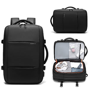 2019 New Design Men Usb Durable Backpack with Charger Laptop Travelling Luggage Waterproof Travel Bag Laptop Backpack