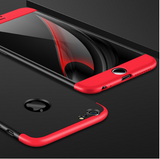 Case for iPhone X XR XS Max Case 360 All-inclusive 3 in 1 Hard PC Matte Back Cover for iPhone X 6 6s 7 8 Case