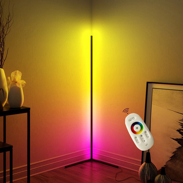 Modern LED Floor Lamp Colorful Stand Light for Atmosphere Living Room Home Decoration Floor Lamp