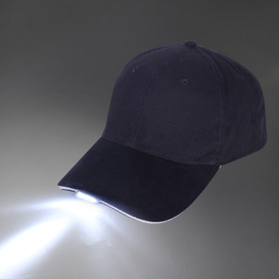 LED Lighting Hat Outdoor Climbing Summer Luminous Fishing Cap Lighting Duck Tongue Sports Baseball Cap