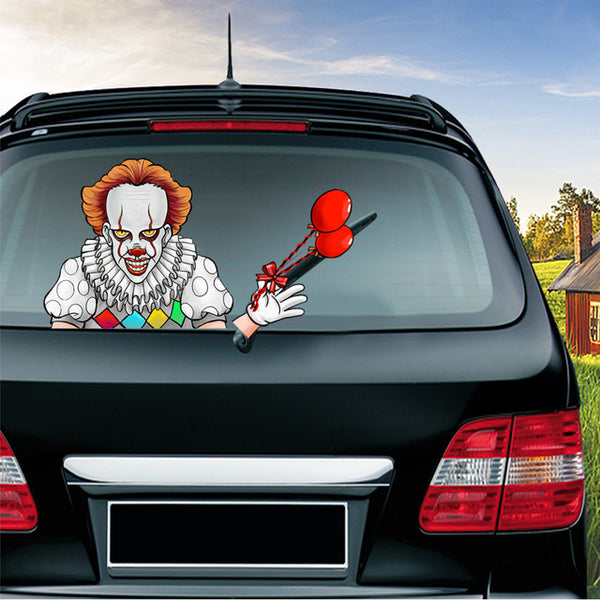 Halloween Waving Wiper Car Stickers