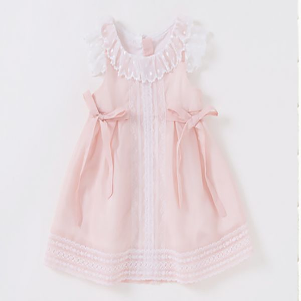 Pink Lace Girl Children Dress