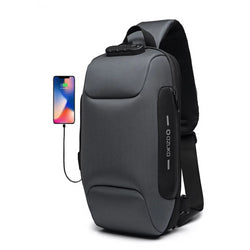 2019 New Multifunctional Crossbody Bag Men Anti-theft Shoulder Messenger Bags Male Waterproof Chest Bag
