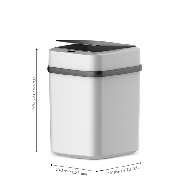 Intelligent Touchless Infrared Motion Sensor Trash Can Household