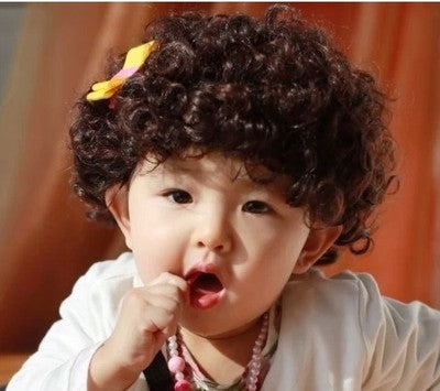 Children's Wigs Boy Baby Korean Version of the Wig Model Wig Child Photo Wig