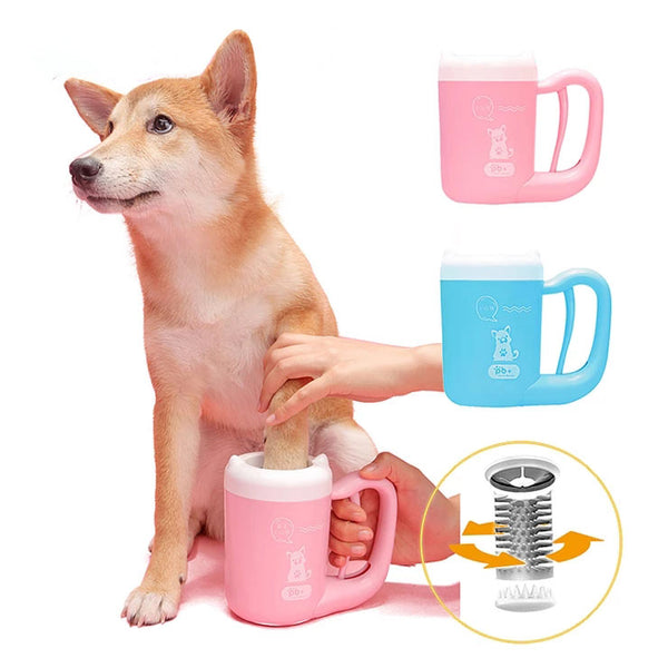 Pet Paw Washer Dogs Dirty foot Paw Cleaning Cup for Puppy dog paw cleaner Cat Grooming Brush Dog Supplies Pet accessories