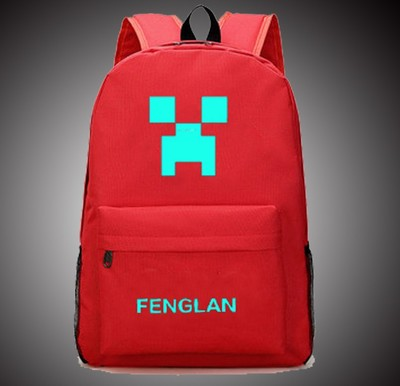 Minecraft  Men and Women Shoulder Bag Anime Student Backpack  KoreanTravel Leisure Business Computer Bag