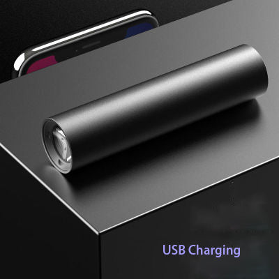 [Super Bright] Flashlight Glare Rechargeable Super Bright Waterproof Multi-function Long-range Outdoor Home Portable Led Mini
