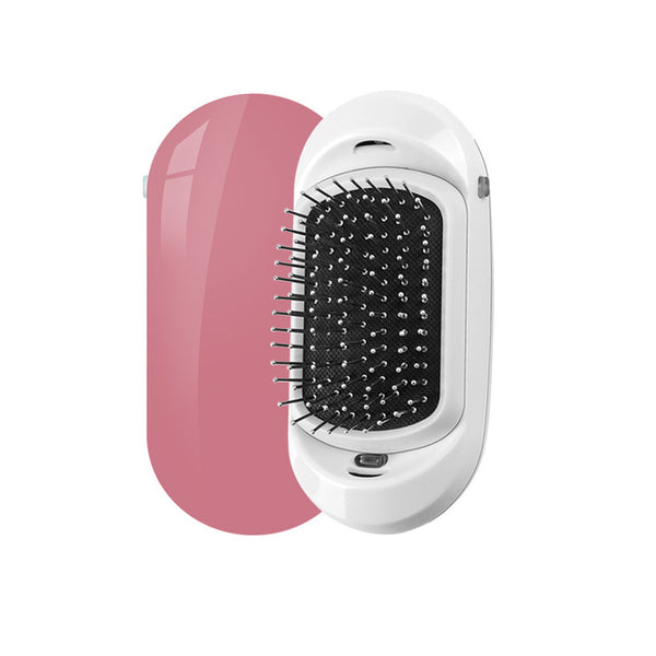 Portable Negative Ion Anti-static Straight Hair Vibration Massage Comb