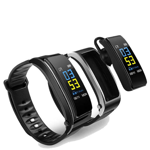 Y3S Smart Band Wristband Talk Bracelet Fitness Tracker Heart Rate Monitor Bluetooth Earphone Smart Band Y3 Plus For IOS Android