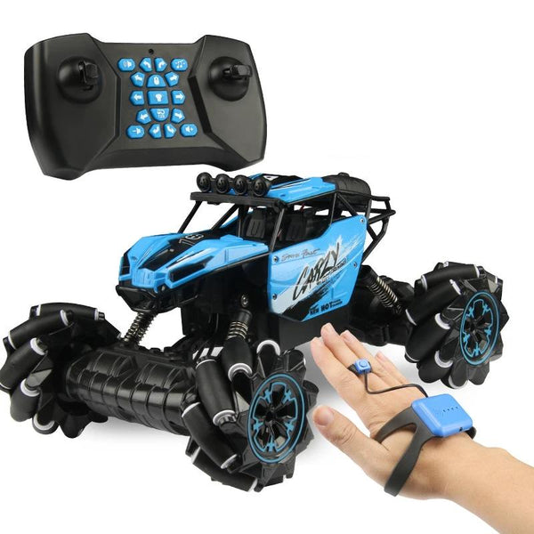 Remote Control Stunt Car Gesture Induction Twisting Off-Road Vehicle Light Music Drift Dancing