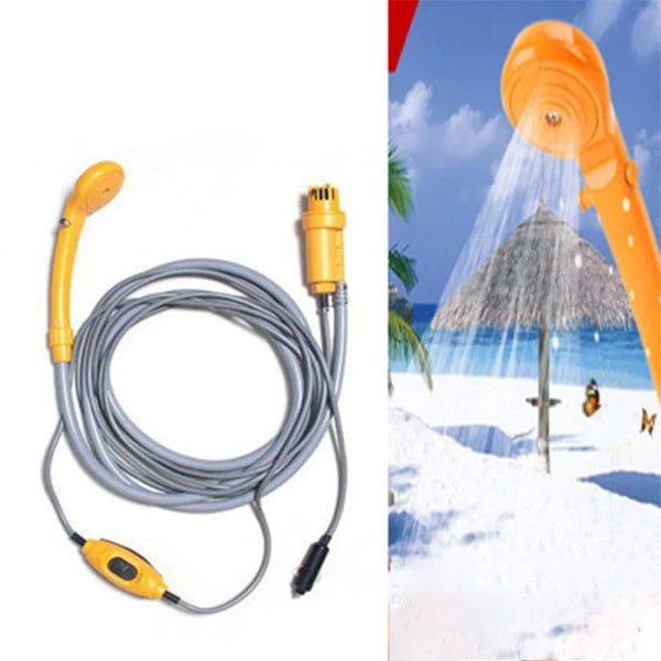 [انفجار في الهواء الطلق] Battery Powered Handheld Portable Outdoor Camping Shower