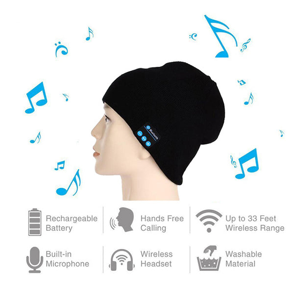 Bluetooth Music Knit Hat