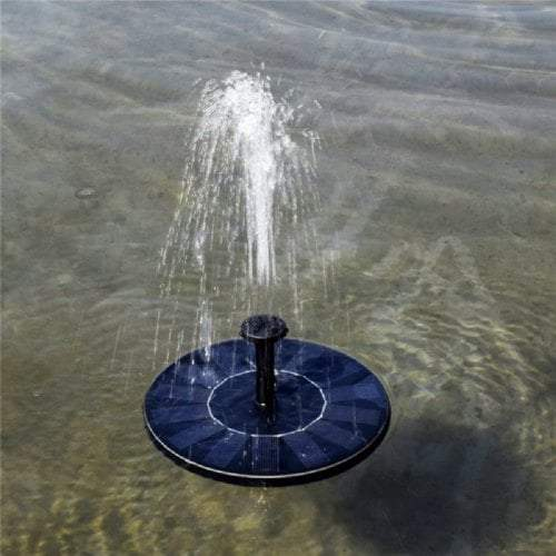 (50% OFF Today) Solar Powered Floating Bath Fountain Pump