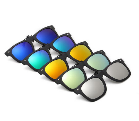 【HOT SALE】30%OFF- Polarized Clip On Flip Sunglasses Holiday style TR90 Frame UV400 Driving【الاستقطاب النظارات الشمسية كليب】