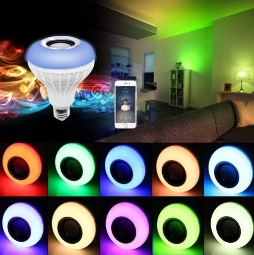 【50% OFF】Wireless Bluetooth Light Bulb Speaker
