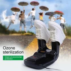 【30% OFF】intelligent Electric Shoes Dryer Sterilization Anion Ozone Sanitiser Telescopic Adjustable Deodorization Drying Machine