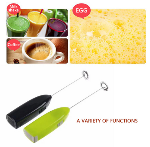 【Buy one get two】Kitchen Whisk Frother Handheld Electric Mixer