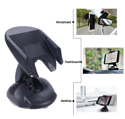 【Buy One Get One Free】Universal Mobile Phone Holder Stand Windshield Car Mount Holder 360 Rotating Mouse Shape