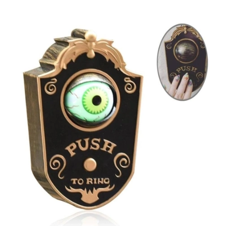 Creative Eyeball Doorbell Blinking Party Led Glow Sound