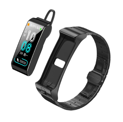 B3S Smart Bracelet Bluetooth Earphone  Heart Rate Blood Pressure Fitness Sport Smart Bracelet