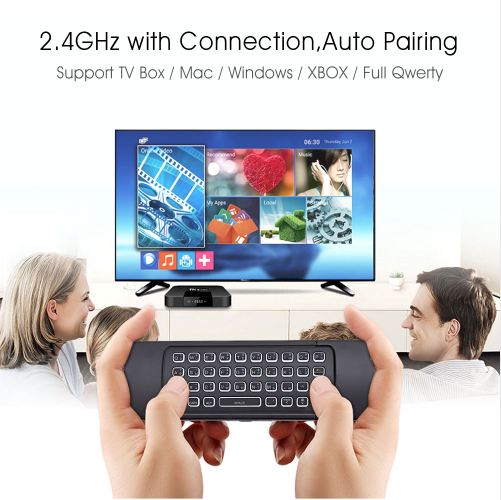 MX3 - L 3 in 1 2.4GHz Wireless Air Mouse QWERTY Keyboard
