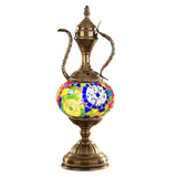 2019 Newest  Hand-inlaid glass Morocco Style mosaic light bedroom living room decorative Table Lamp Turkish Lampe