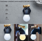 LED Night Light Faucet