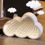 INS Cloud Decoration Lamp  space-Time Tunnel night light mirror table lamps new Neon Night-light gift