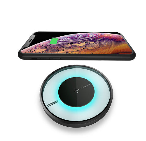 Magic  Colorful glow 10W Fast Qi Wireless Charger