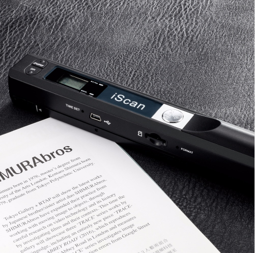 Portable New Creative Handheld Mobile Portable Document Scanner 900 DPI USB 2.0 LCD Display Support JPG / PDF Format Selection