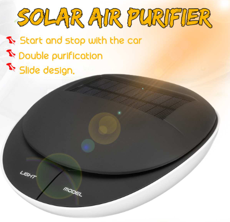 【38% OFF】Solar Car Air Purifier