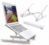 Folding Portable Laptop Stand Two Heights Adjustable Desktop Heighten Notebook Cooling Holder
