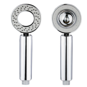 【Buy one get one free】Double Sided  Shower Head Pressurized Spa Experience Shaking Head Removable
