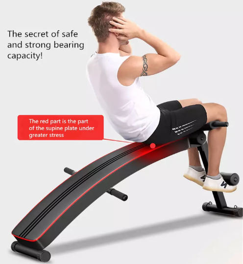 Best Selling New Exercise Equipment Fitness Indoor Weight Folding Sit Up Bench For Home Use